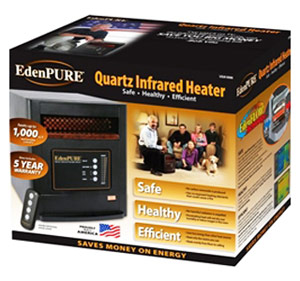 New Edenpure Heater Model US-1000 Made In The USA - Best Infrared Heaters Reviews