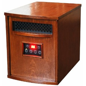 Square Foot 6 Element Infrared Heater - Best Infrared Heaters Reviews